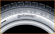 Tyre Size : P205/55R16 91W